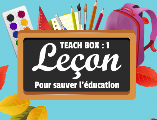 TEACH BOX – Recrutement d'enseignants volontaires contre le COVID-19