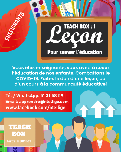 TEACH BOX Mouvement des enseignants contre le COVID-19